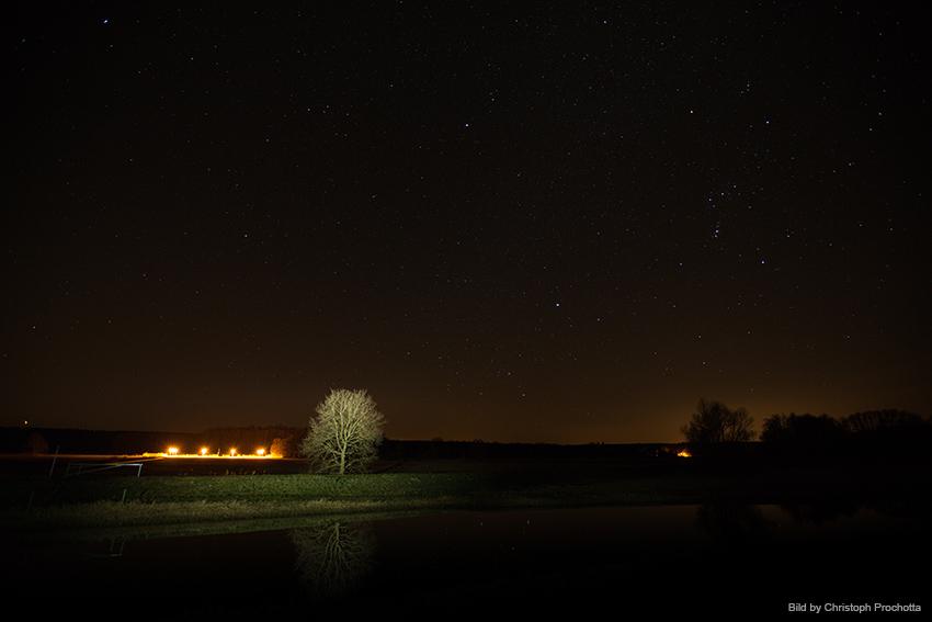 Das Testgelände im Sternenpark Westhavelland | Bild: Christoph Prochotta